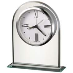 "Howard Miller Regent 6 1/4"" High Alarm Clock"