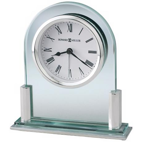 "Howard Miller Brinell II 5"" High Tabletop Alarm Clock"