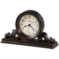 "Howard Miller Bishop 9"" Wide Alarm Clock"