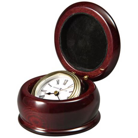 "Howard Miller Westport 3 3/4"" Wide Gimbaled Clock"