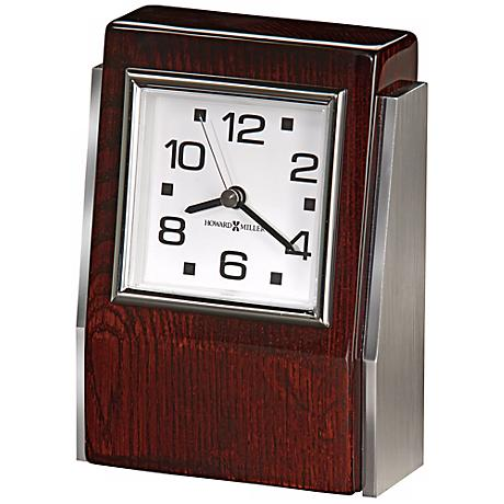 "Howard Miller Haddington 5 3/4"" High Tabletop Clock"