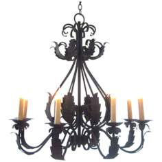 Laura Lee Michelle 8-Light Chandelier