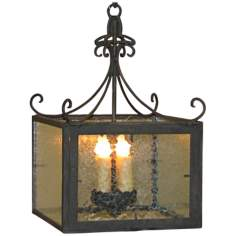 "Laura Lee Isabela 12"" Wide 3-Light Foyer Chandelier"