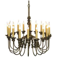 Laura Lee Venus 18-Light Large Candle Chandelier