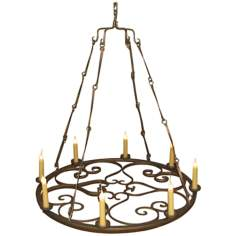 Laura Lee Valentine 8-Light Chandelier