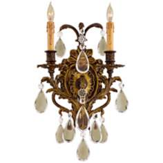 "Metropolitan Collection 15 3/4"" High 2-Light Wall Sconce"
