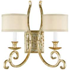 Candice Olson Lucy 2-Light Wall Sconce