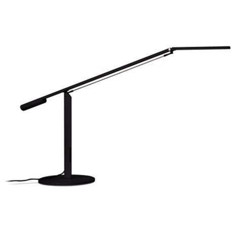 Koncept Gen 3 Equo Warm Light LED Black Desk Lamp
