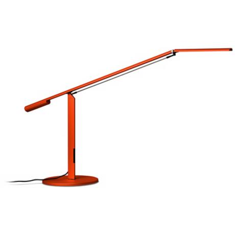 Koncept Gen 3 Equo Daylight LED Orange Desk Lamp