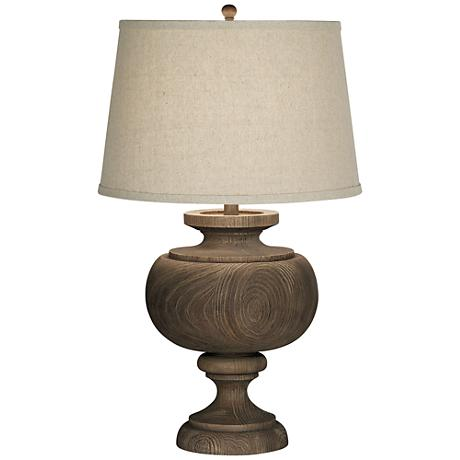 Kathy Ireland Grand Maison Grey Table Lamp