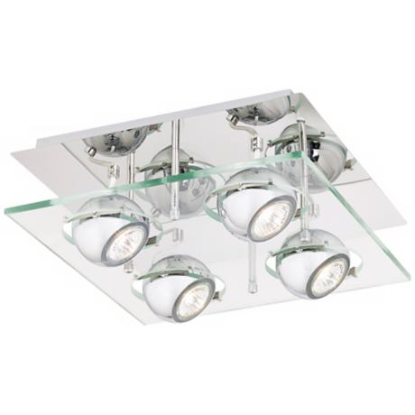 "Pro Track® Orb 12 1/2"" Wide Ceiling Light"