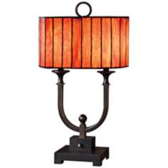Uttermost 2-Light Bellevue Tiffany Style Shade Table Lamp