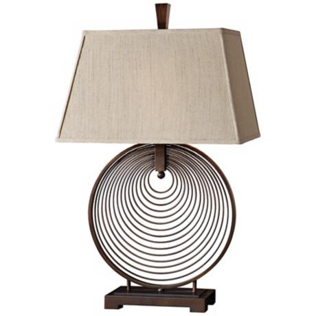 Uttermost Ciro Circles Table Lamp