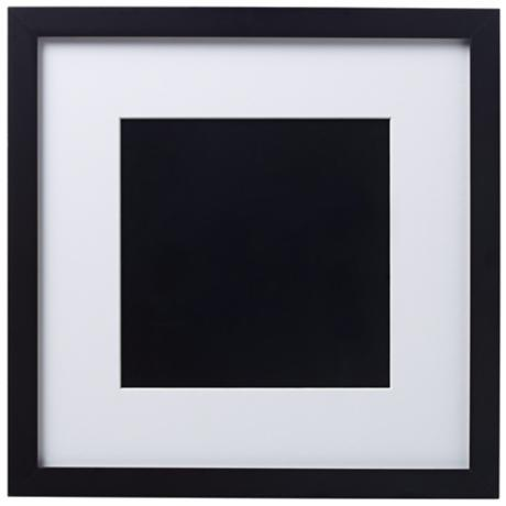 14 X Black Finish With White Matting Wall Art Frame R6083 Www