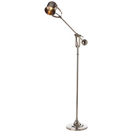 Arteriors Home Lane Polished Nickel Adjustable Floor Lamp