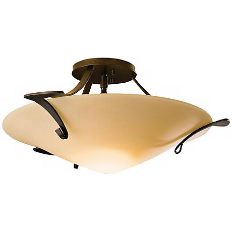 Hubbardton Forge Antasia Sand Semiflush Ceiling Light
