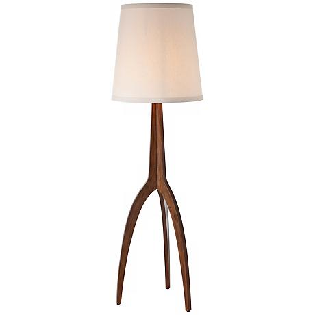 Arteriors Home Linden Tripod Wood Floor Lamp