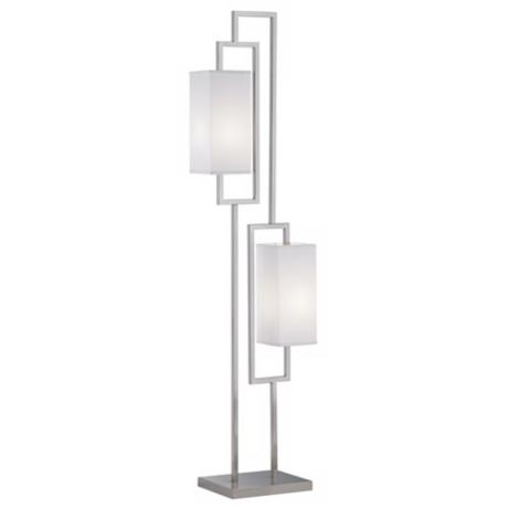 Possini Euro Design Floating Rectangles Floor Lamp