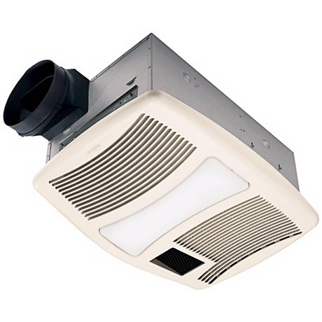 Nutone 110 cfm heater and cfl light bath exhaust fan - Bathroom ceiling light with heater ...