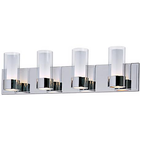 Maxim Silo Polished Chrome 4-Light Bathroom Light Fixture