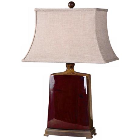 Uttermost Baalon Two Toned Porcelain Table Lamp