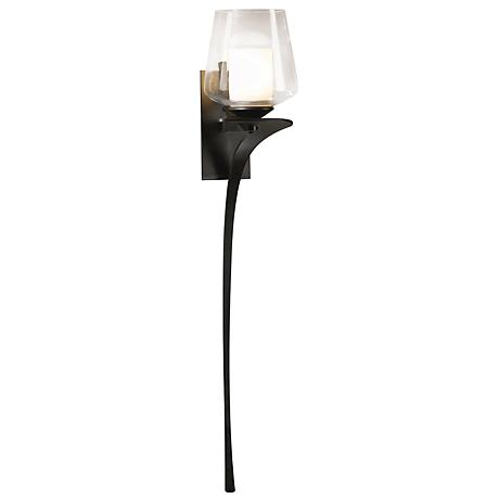 "Hubbardton Forge Antasia Smoke Left 26 1/2"" High Wall Sconce"