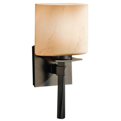Hubbardton Forge Beacon Hall Stone Glass Wall Sconce