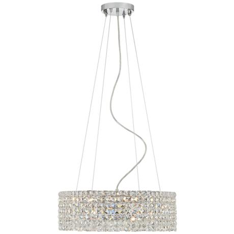 "James R. Moder Imperial Crystal 20"" Round Pendant Chandelier"