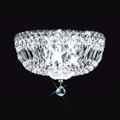 "James R. Moder 10"" Wide Imperial Crystal Ceiling Fixture"