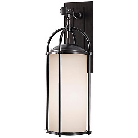 "Feiss Dakota Espresso 20 3/4"" High Outdoor Wall Light"