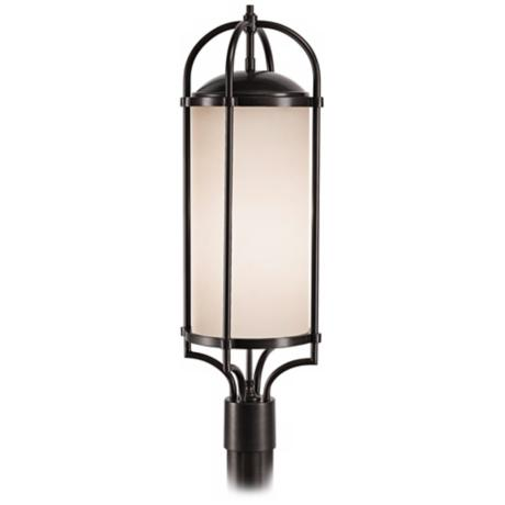 "Murray Feiss Dakota Espresso 28 1/4"" High Outdoor Post Light"