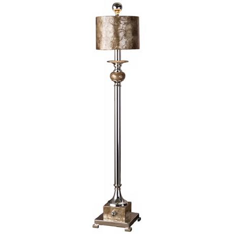 Uttermost Pearl Silver Plated Buffet Table Lamp