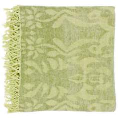 Surya Tristen Fern Throw Blanket