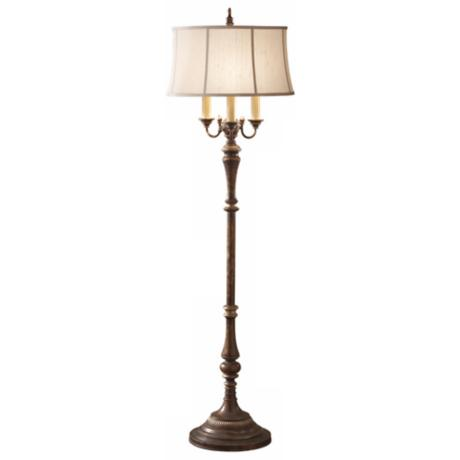 Murray Feiss Gibson Cambridge Crackle Floor Lamp