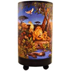 "Jungle Theme 11"" High Accent Lamp"