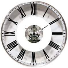 "Paragon 11 3/4"" Wide Round Wall Clock"