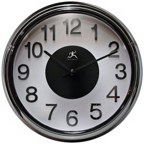 "Electric Kool 15"" Wide Round Wall Clock"