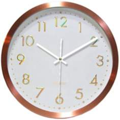 "Penny For Your Time 12"" Wide Wall Clock"