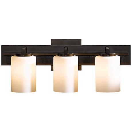 Hubbardton Forge Ondrian Opal 3-Light Bath Wall Sconce
