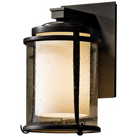 "Hubbardton Forge Meridian 10 1/4"" High Outdoor Wall Light"