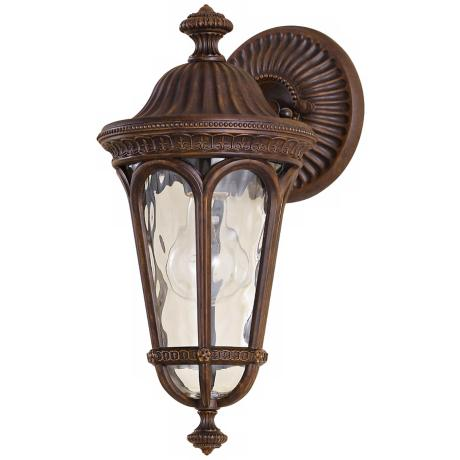 "Murray Feiss Regent Court 13 1/2"" High Outdoor Wall Lantern"