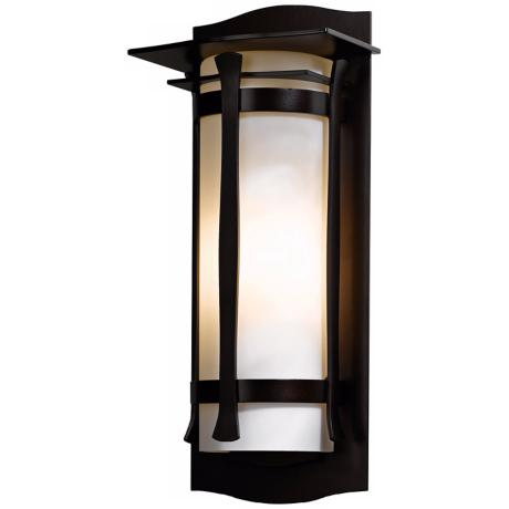 "Hubbardton Forge Sonora 19 1/4"" High Outdoor Wall Light"