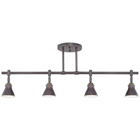 Quoizel Clifford Palladian Bronze 4-Light Ceiling Fixture
