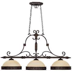 Capital River Crest Rustic Iron Island Chandelier
