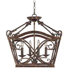 "Reserve Collection 20 1/2"" Wide 4-Light Foyer Chandelier"
