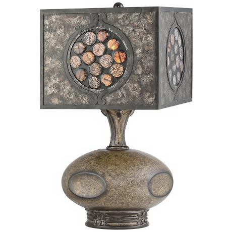 "Quoizel Pelham 17 1/2"" High Table Lamp"