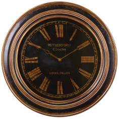 "Uttermost Buckley 31 1/2"" Wide Wall Clock"