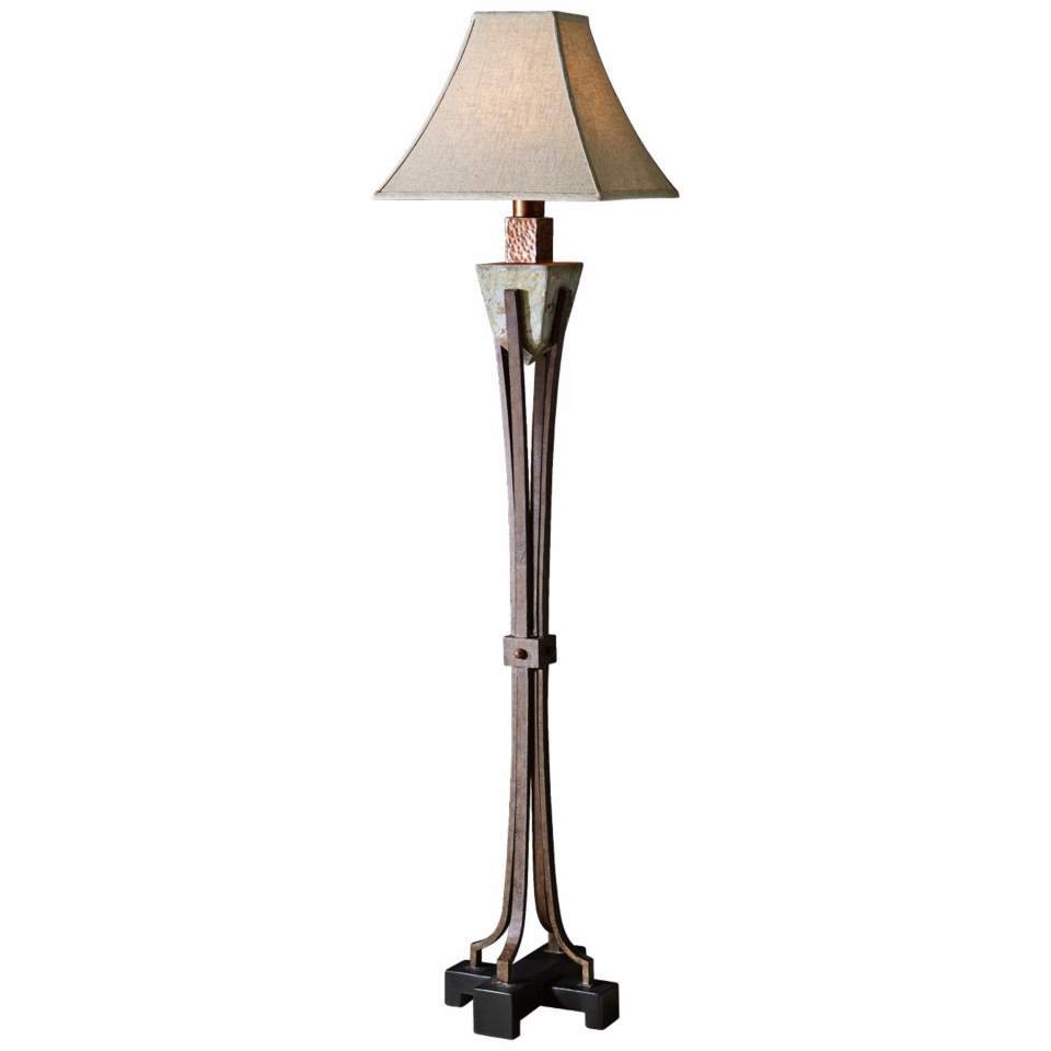 Uttermost Slate Copper Indoor Outdoor Floor Lamp   #R7745