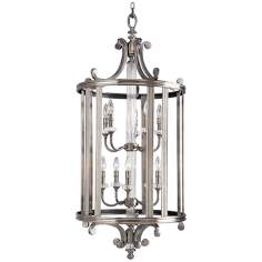 "Progress Lighting Silver Roxbury 22"" Wide Pandant Chandelier"