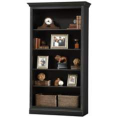 Ty Pennington Oxford Center Antique Black Wall Storage Unit